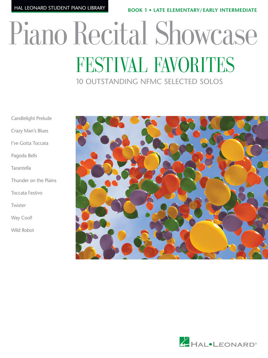 Product Cover for Piano Recital Showcase – Festival Favorites, Book 1