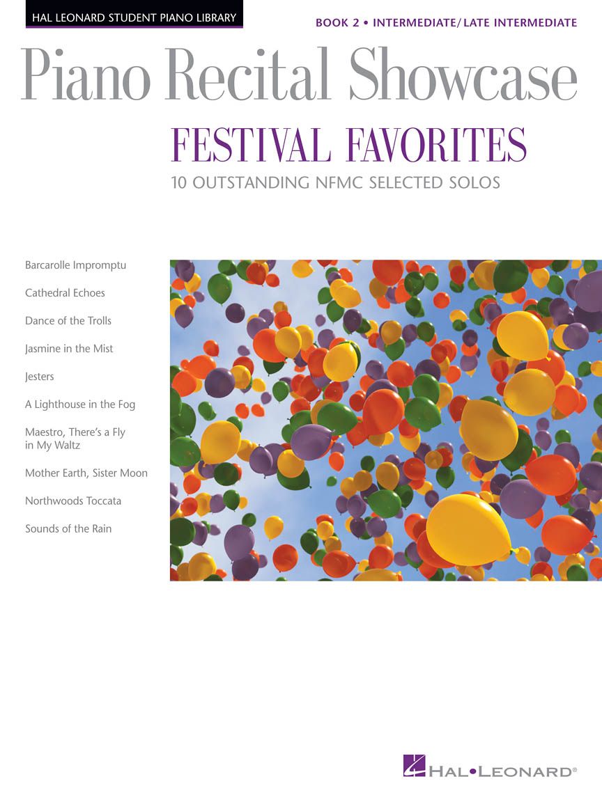 Product Cover for Piano Recital Showcase – Festival Favorites, Book 2