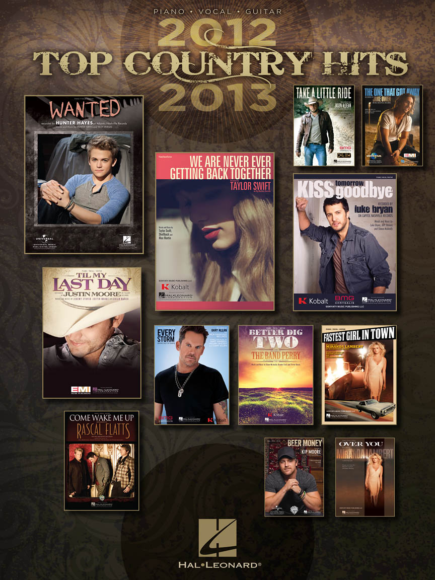 Product Cover for Top Country Hits of 2012-2013