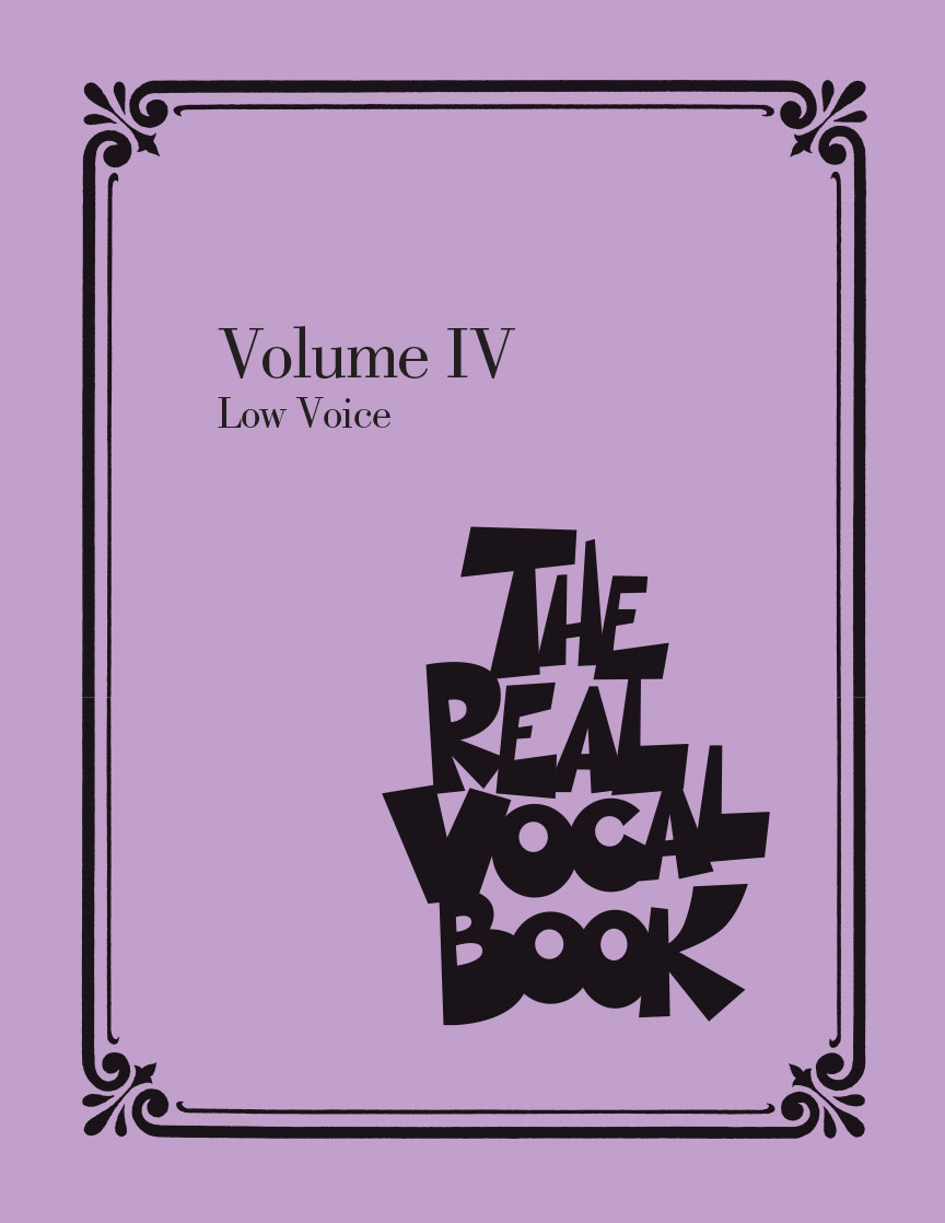 Product Cover for The Real Vocal Book – Volume IV