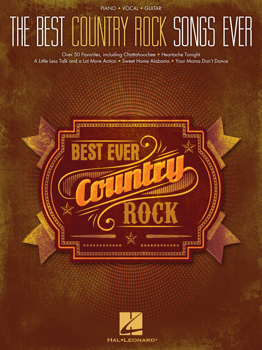 Product Cover for The Best Country Rock Songs Ever
