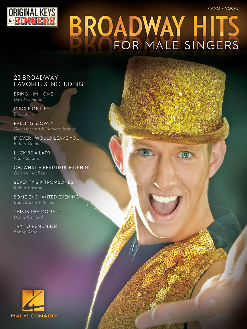 Product Cover for Broadway Hits – Original Keys for Male Singers