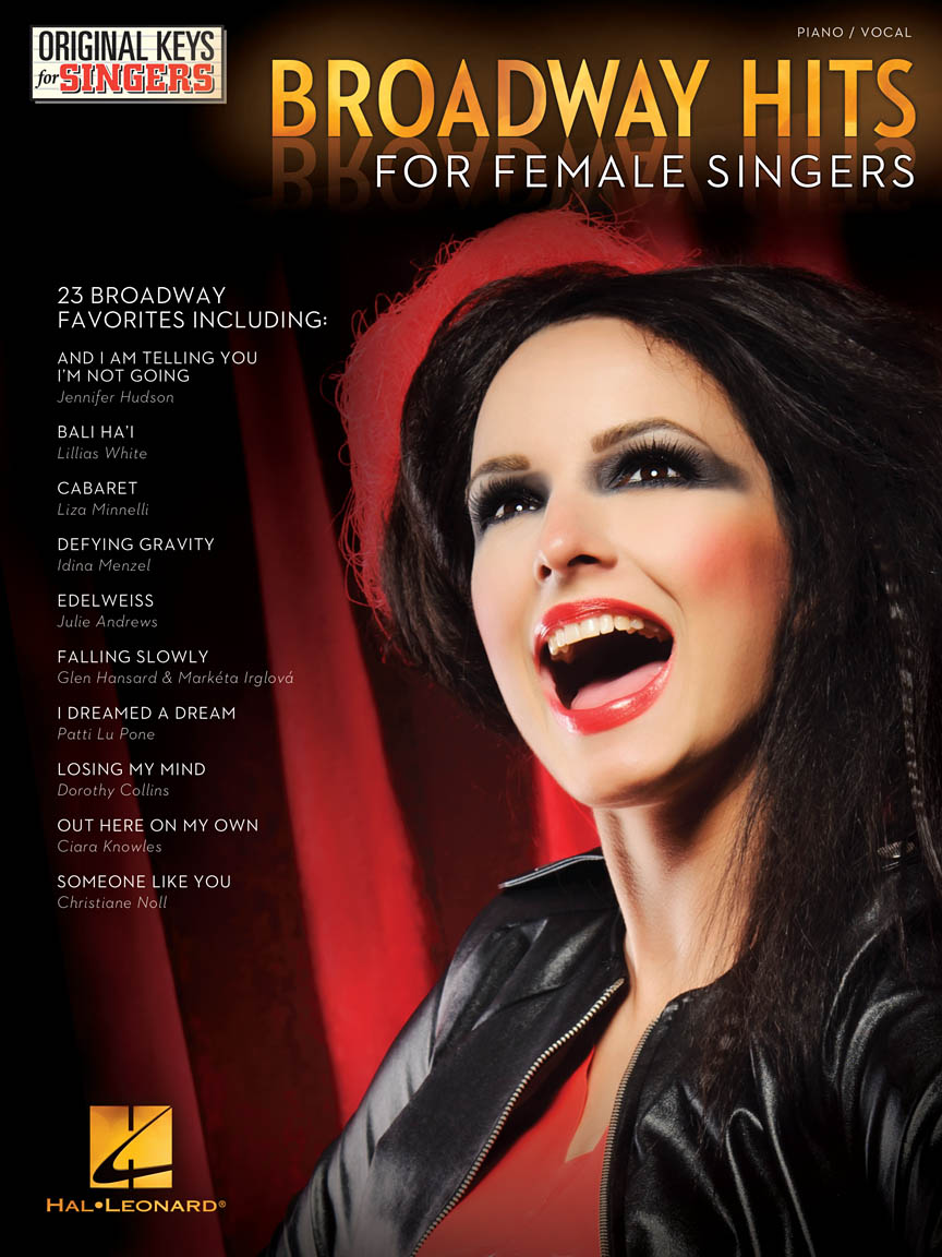 Product Cover for Broadway Hits – Original Keys for Female Singers