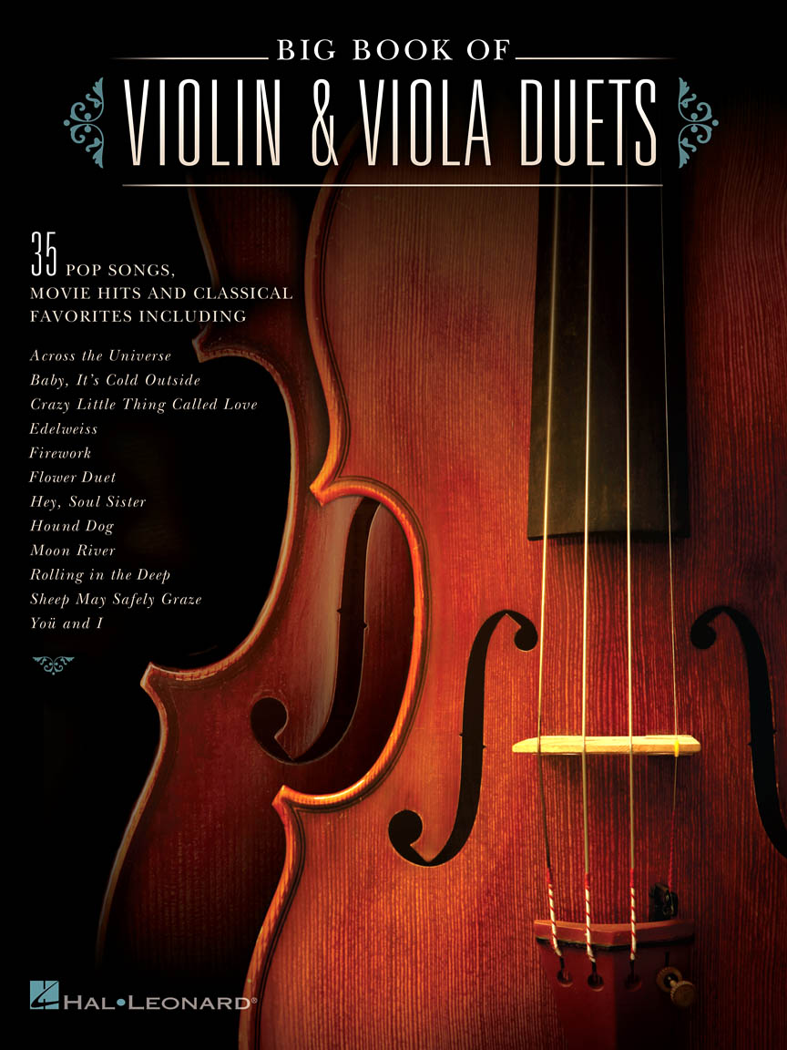 Product Cover for Big Book of Violin & Viola Duets