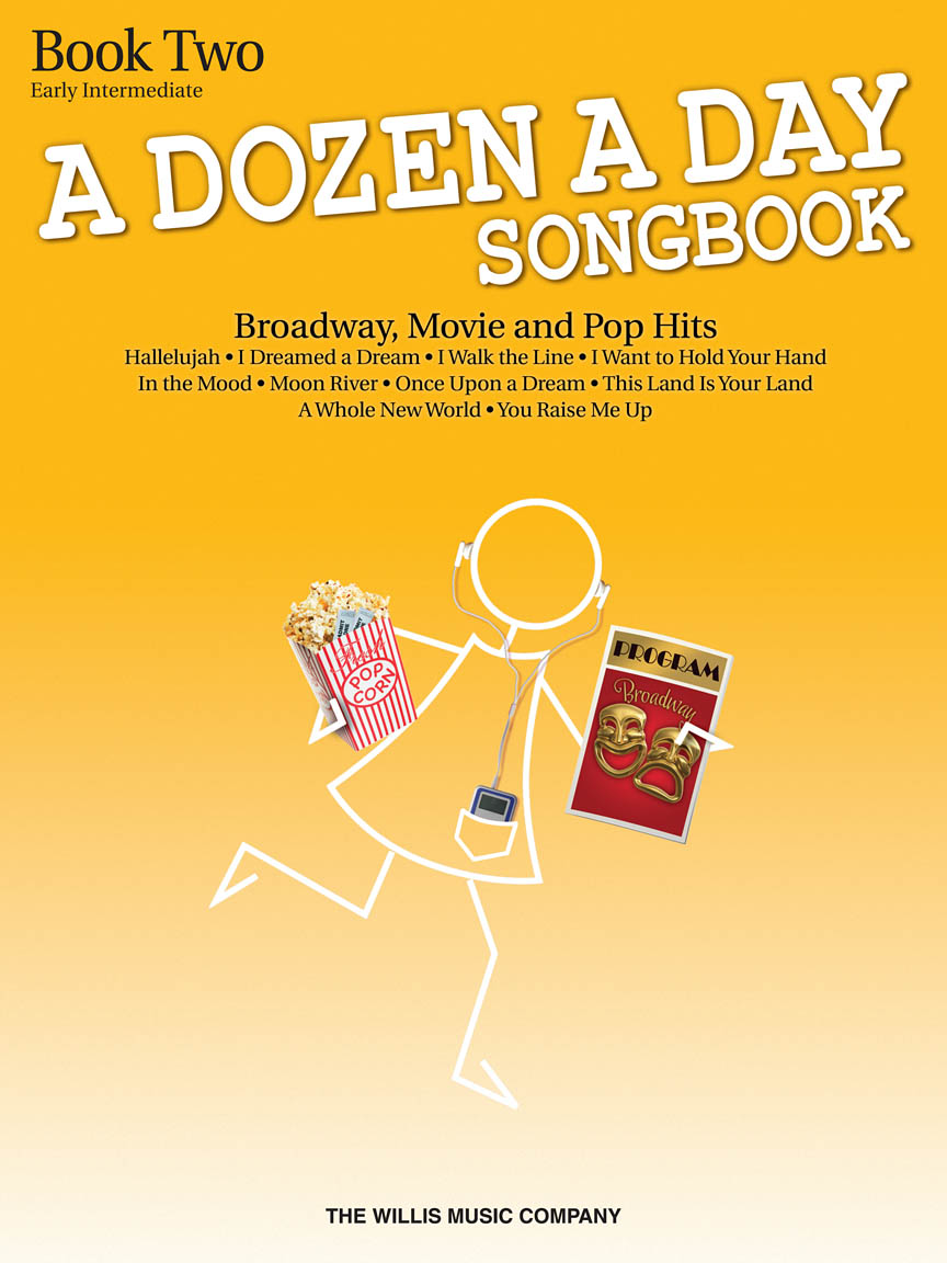 Product Cover for A Dozen A Day Songbook – Book 2