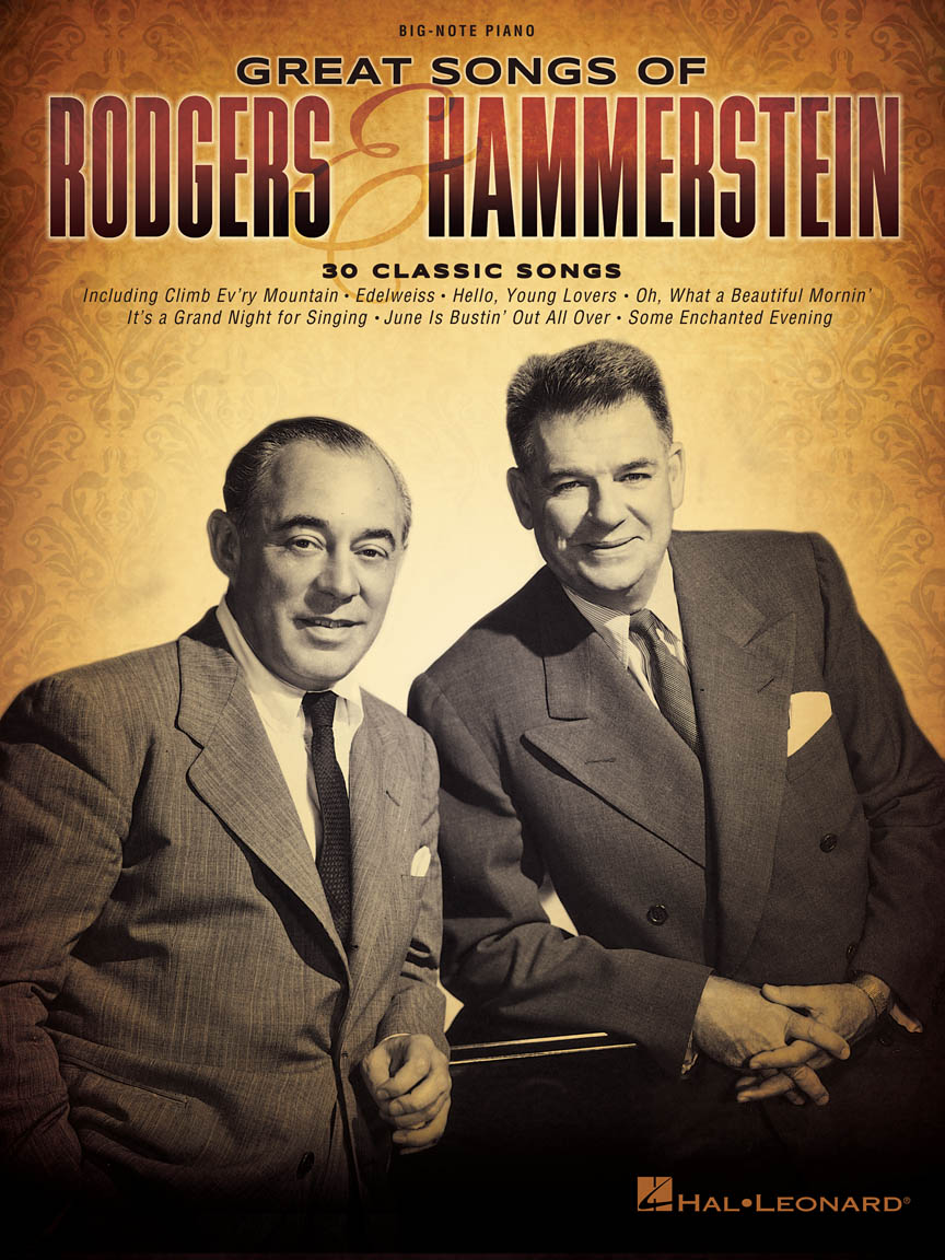 Product Cover for Great Songs of Rodgers & Hammerstein