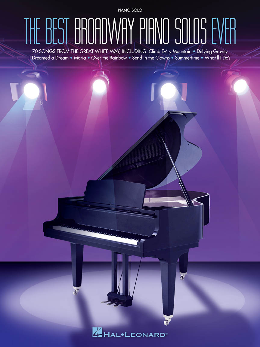 Product Cover for The Best Broadway Piano Solos Ever