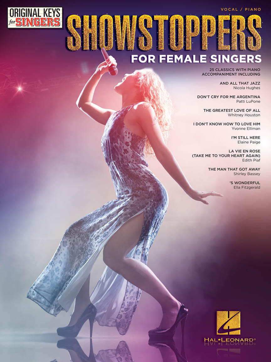 Product Cover for Showstoppers for Female Singers