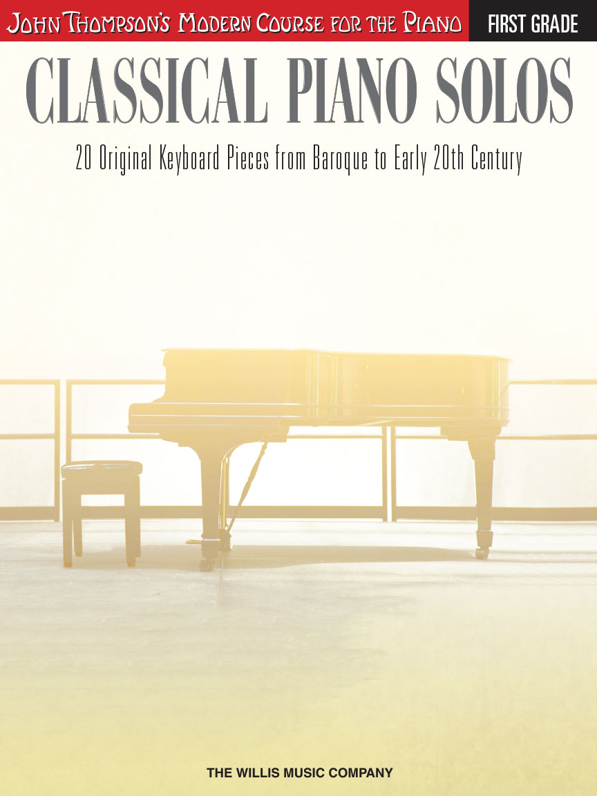 Product Cover for Classical Piano Solos – First Grade