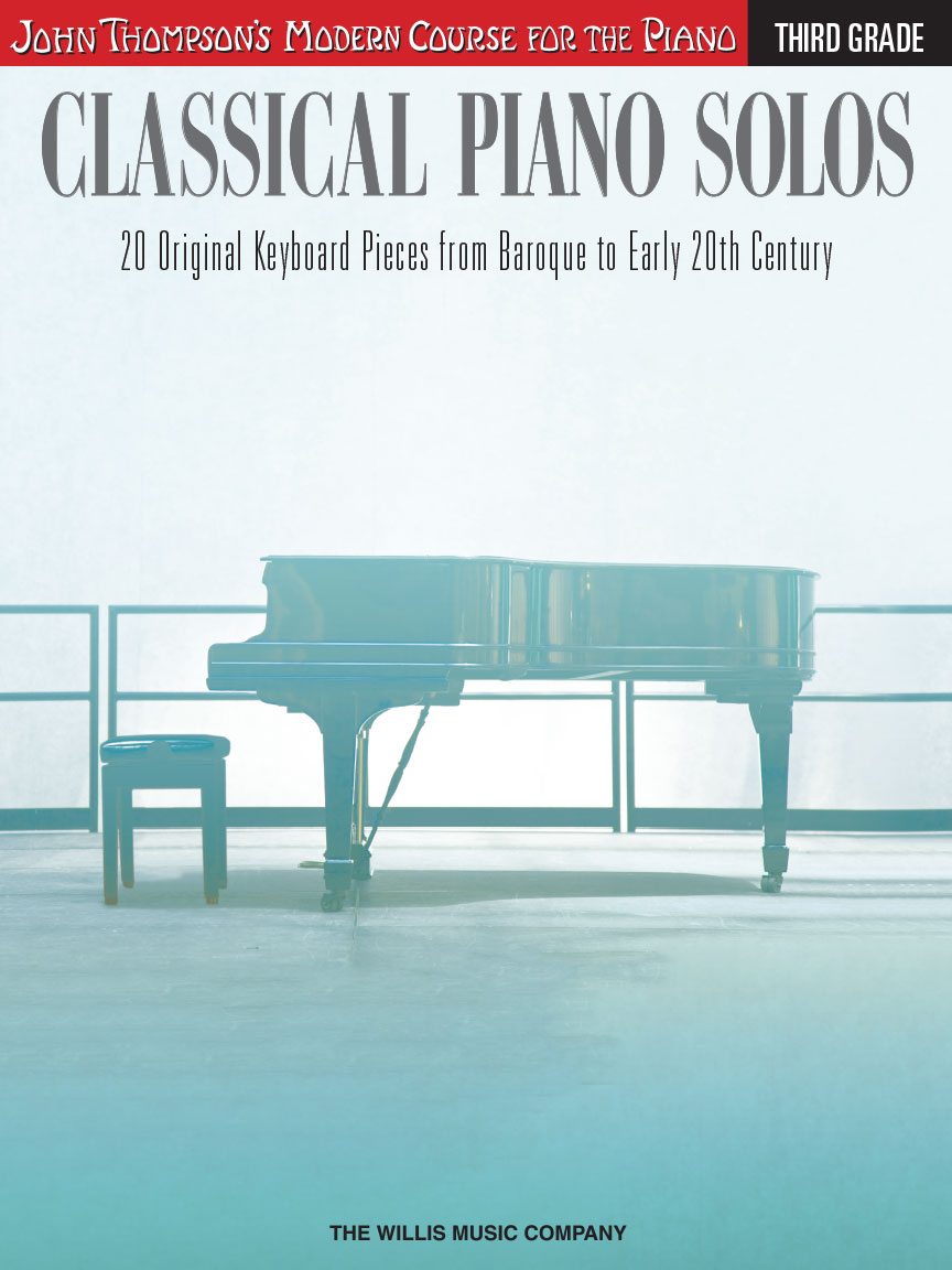 Product Cover for Classical Piano Solos – Third Grade