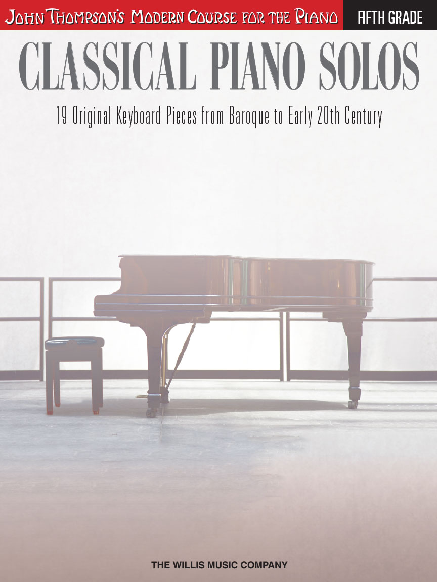 Product Cover for Classical Piano Solos – Fifth Grade