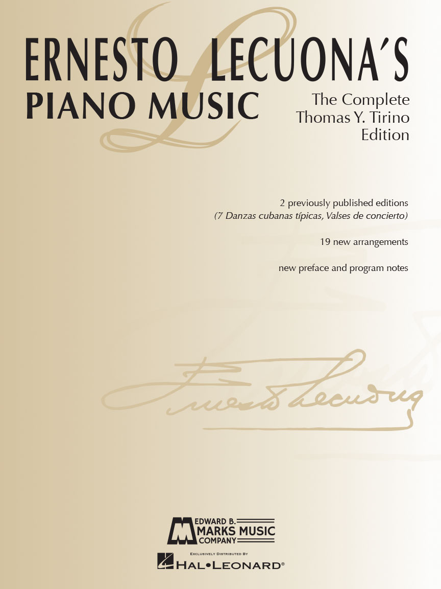 Product Cover for Ernesto Lecuona's Piano Music