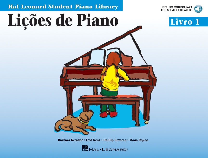 Product Cover for Piano Lessons, Book 1 – Portuguese Edition