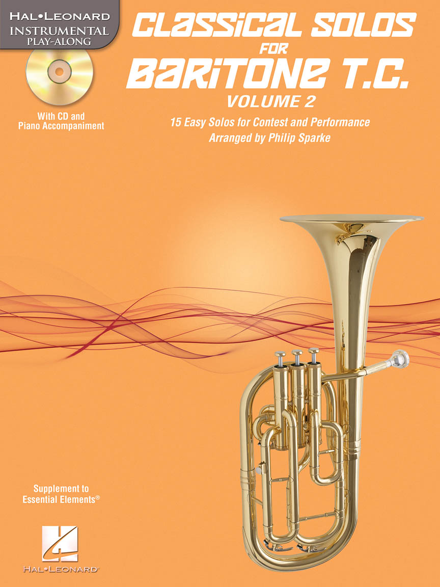 Product Cover for Classical Solos for Baritone T.C., Vol. 2