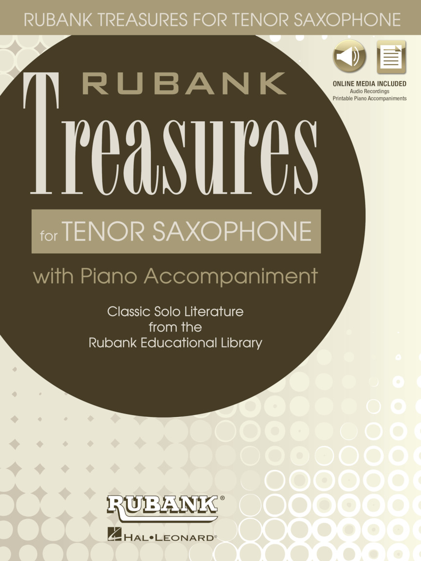 Product Cover for Rubank Treasures for Tenor Saxophone