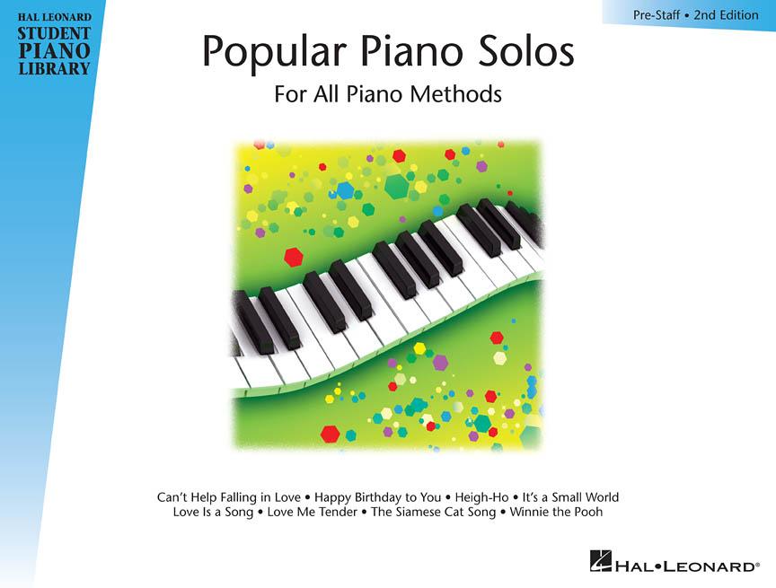 Popular Piano Solos – Prestaff Level<br><br>2nd Edition