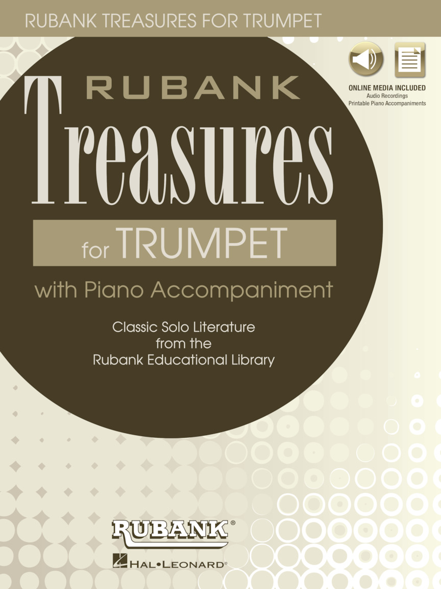 Product Cover for Rubank Treasures for Trumpet