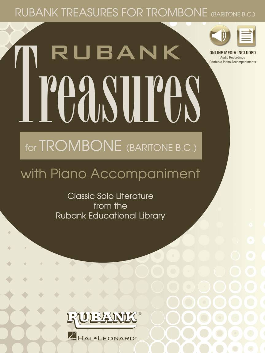 Product Cover for Rubank Treasures for Trombone (Baritone B.C.)