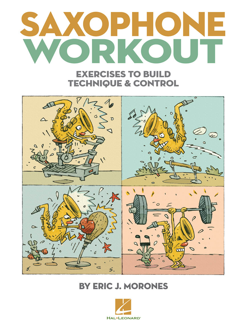 Product Cover for Saxophone Workout
