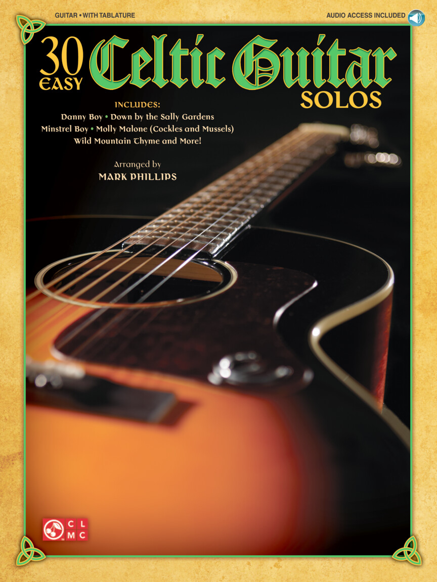 Product Cover for 30 Easy Celtic Guitar Solos