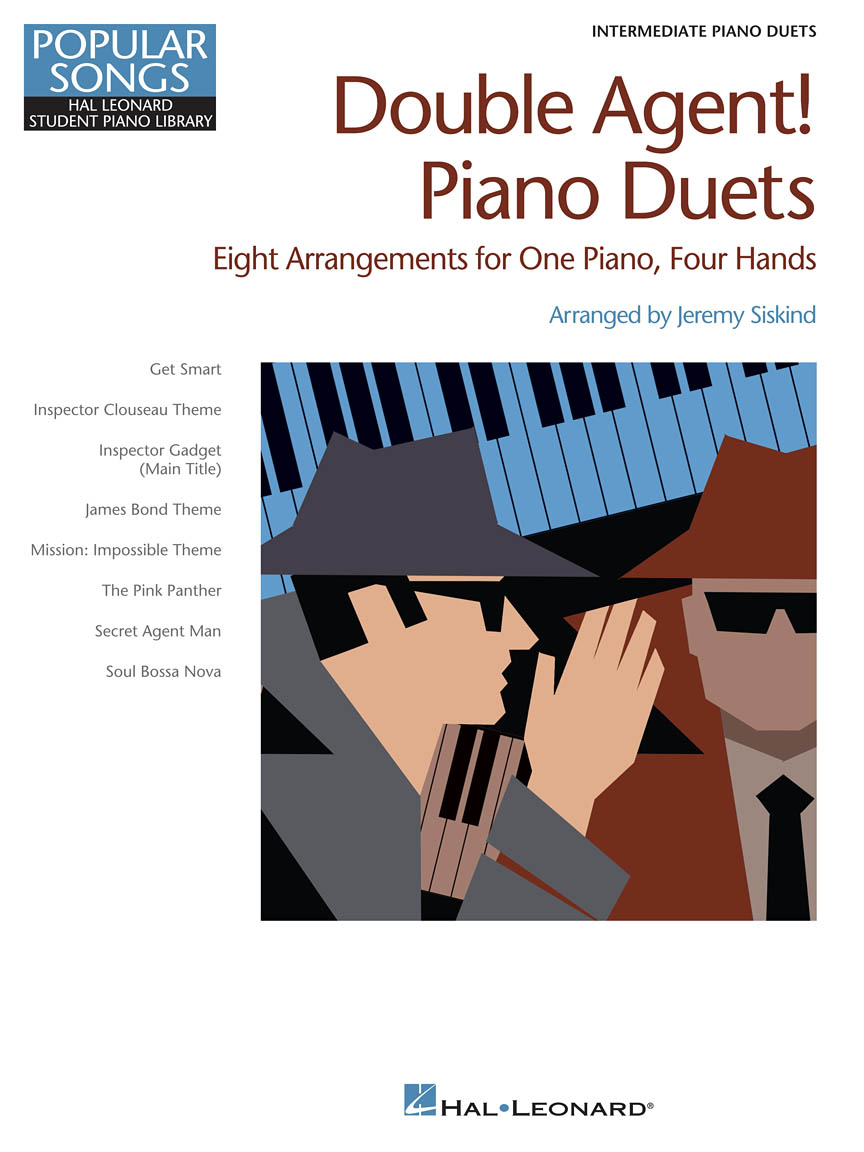 Product Cover for Double Agent! Piano Duets