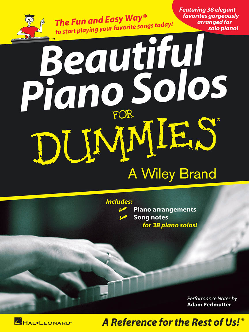 Product Cover for Beautiful Piano Solos for Dummies