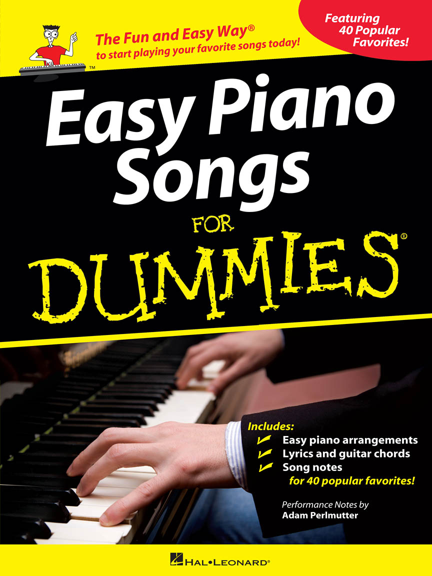 Product Cover for Easy Piano Songs for Dummies
