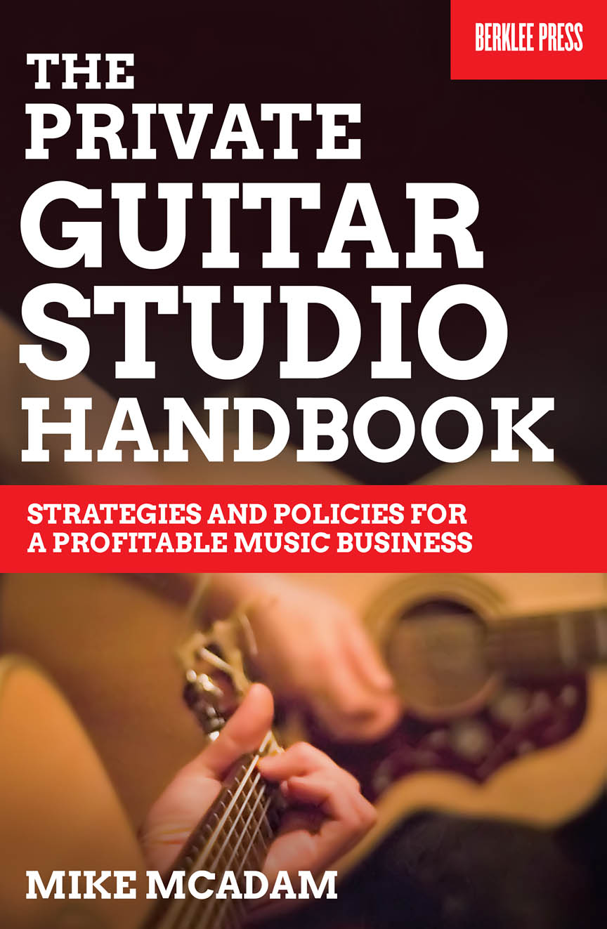 Product Cover for The Private Guitar Studio Handbook