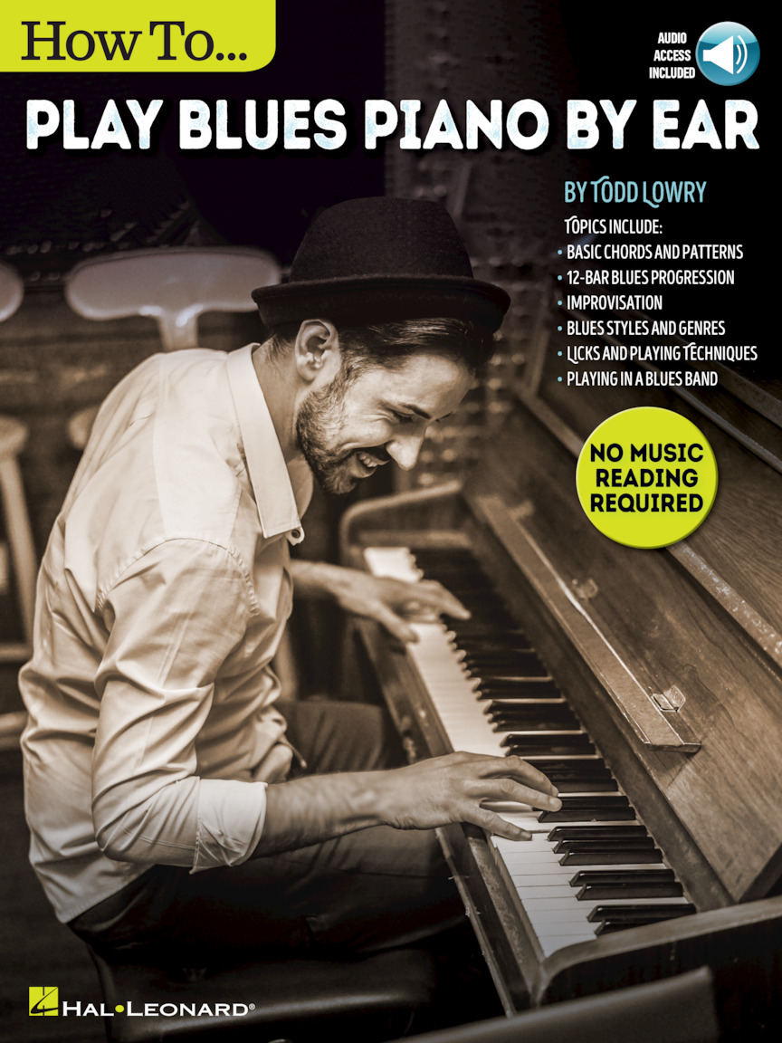 Product Cover for How to Play Blues Piano by Ear