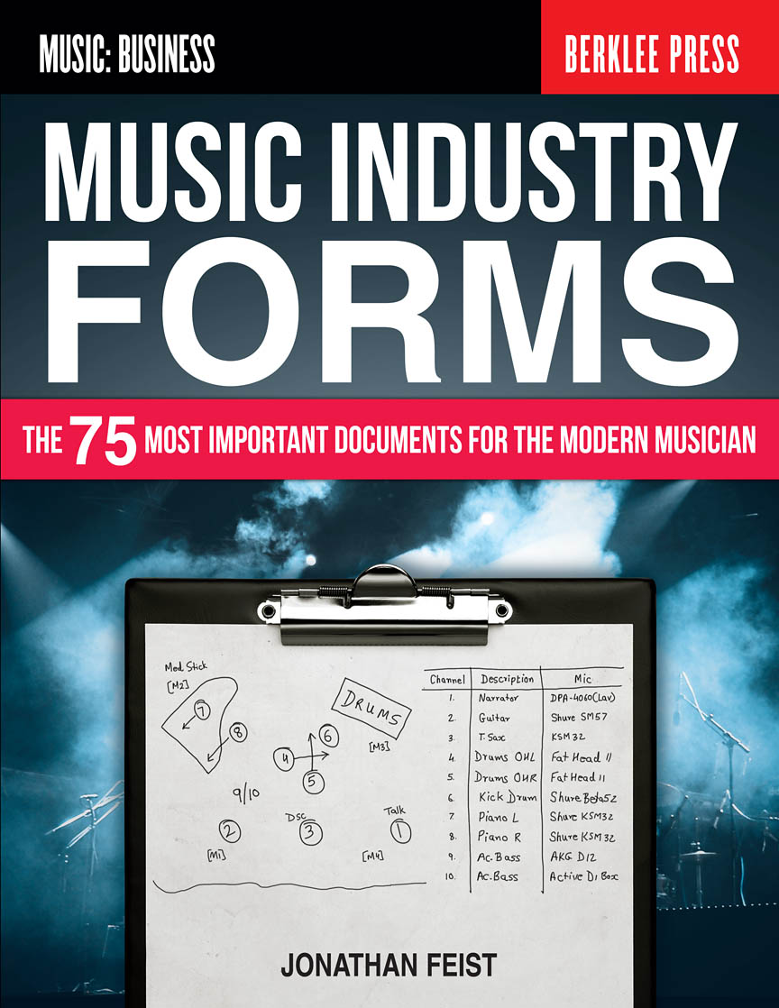 Product Cover for Music Industry Forms