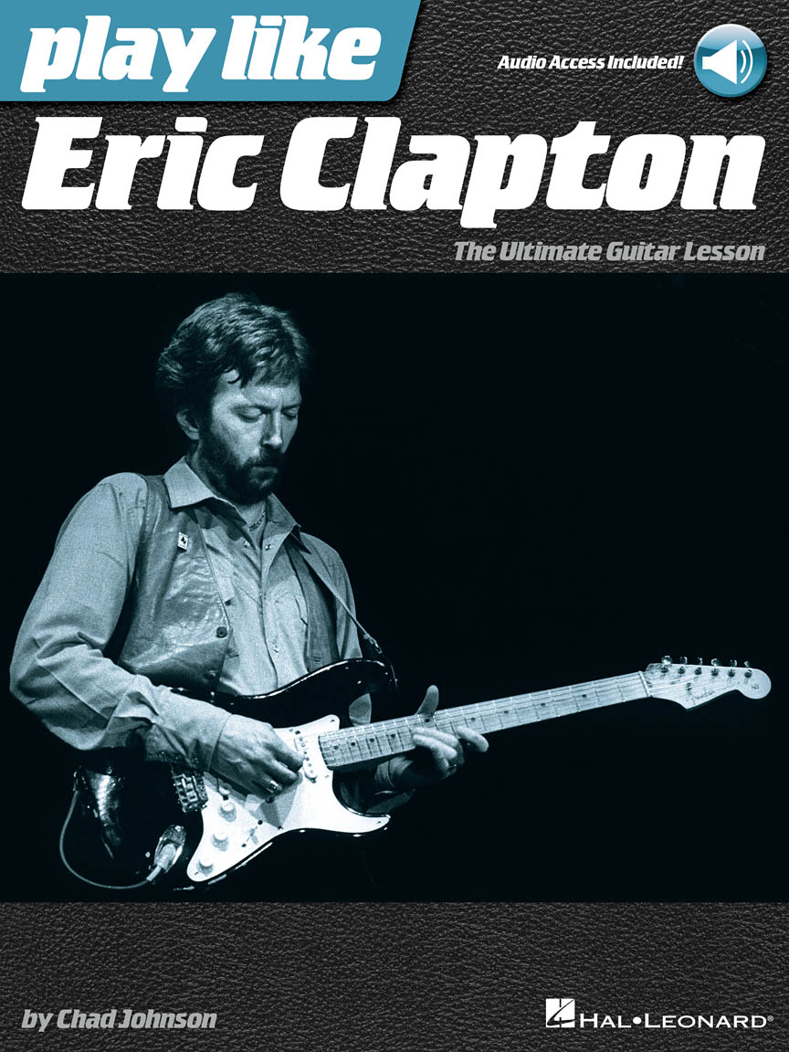 Product Cover for Play like Eric Clapton