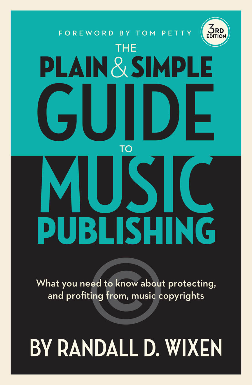 Product Cover for The Plain and Simple Guide to Music Publishing, 3rd Edition