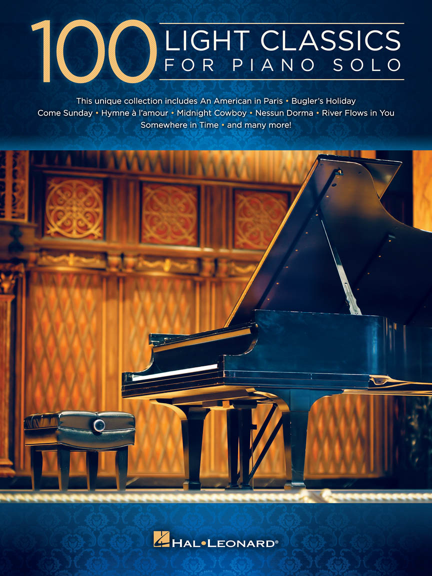 Product Cover for 100 Light Classics for Piano Solo