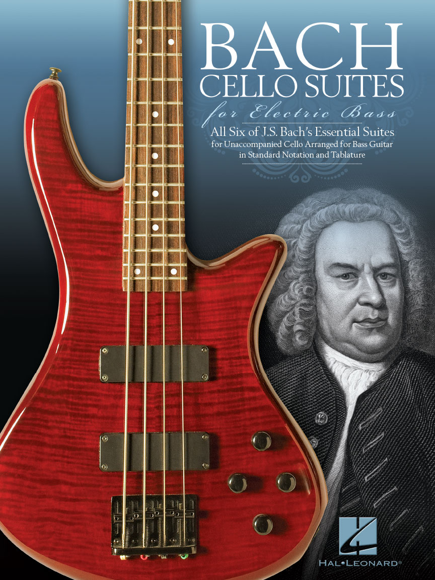 Product Cover for Bach Cello Suites for Electric Bass