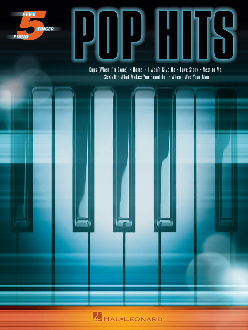 Product Cover for Pop Hits for Five-Finger Piano