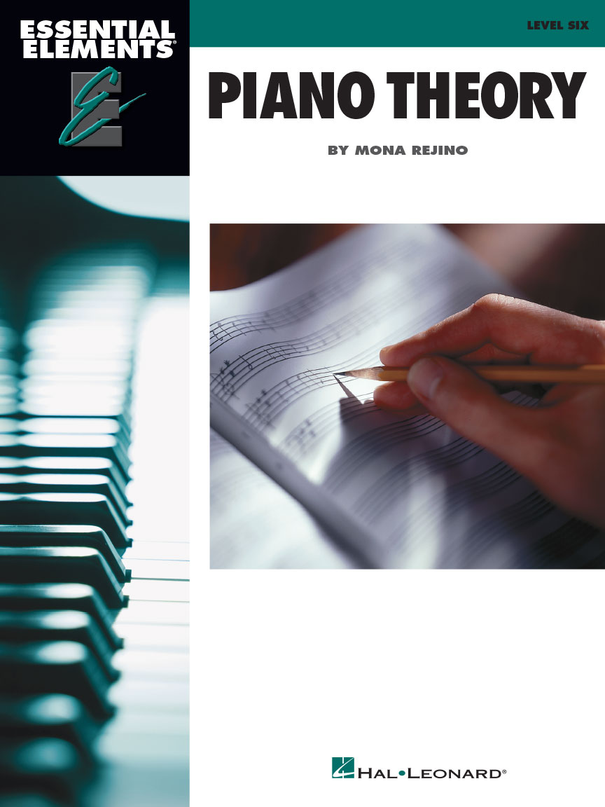 Product Cover for Essential Elements Piano Theory – Level 6