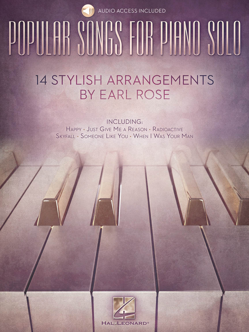 Product Cover for Popular Songs for Piano Solo – 14 Stylish Arrangements