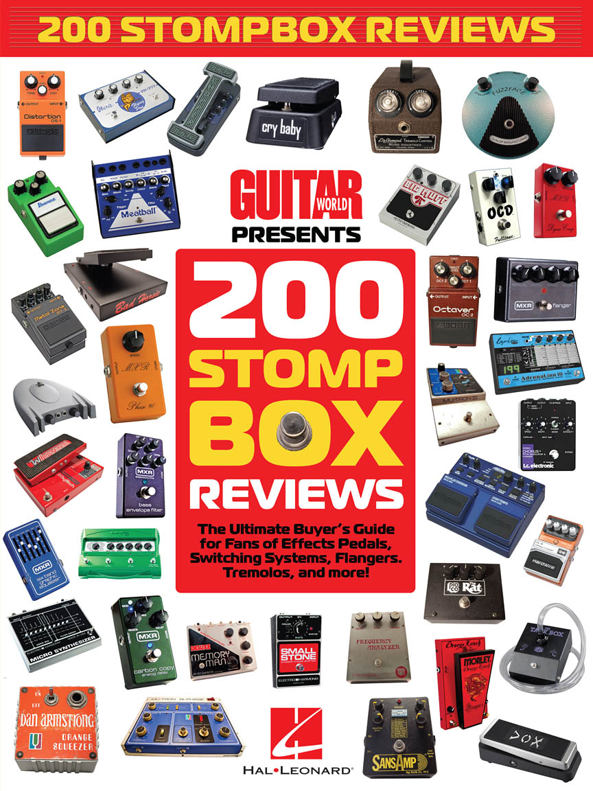 Product Cover for Guitar World Presents 200 Stompbox Reviews