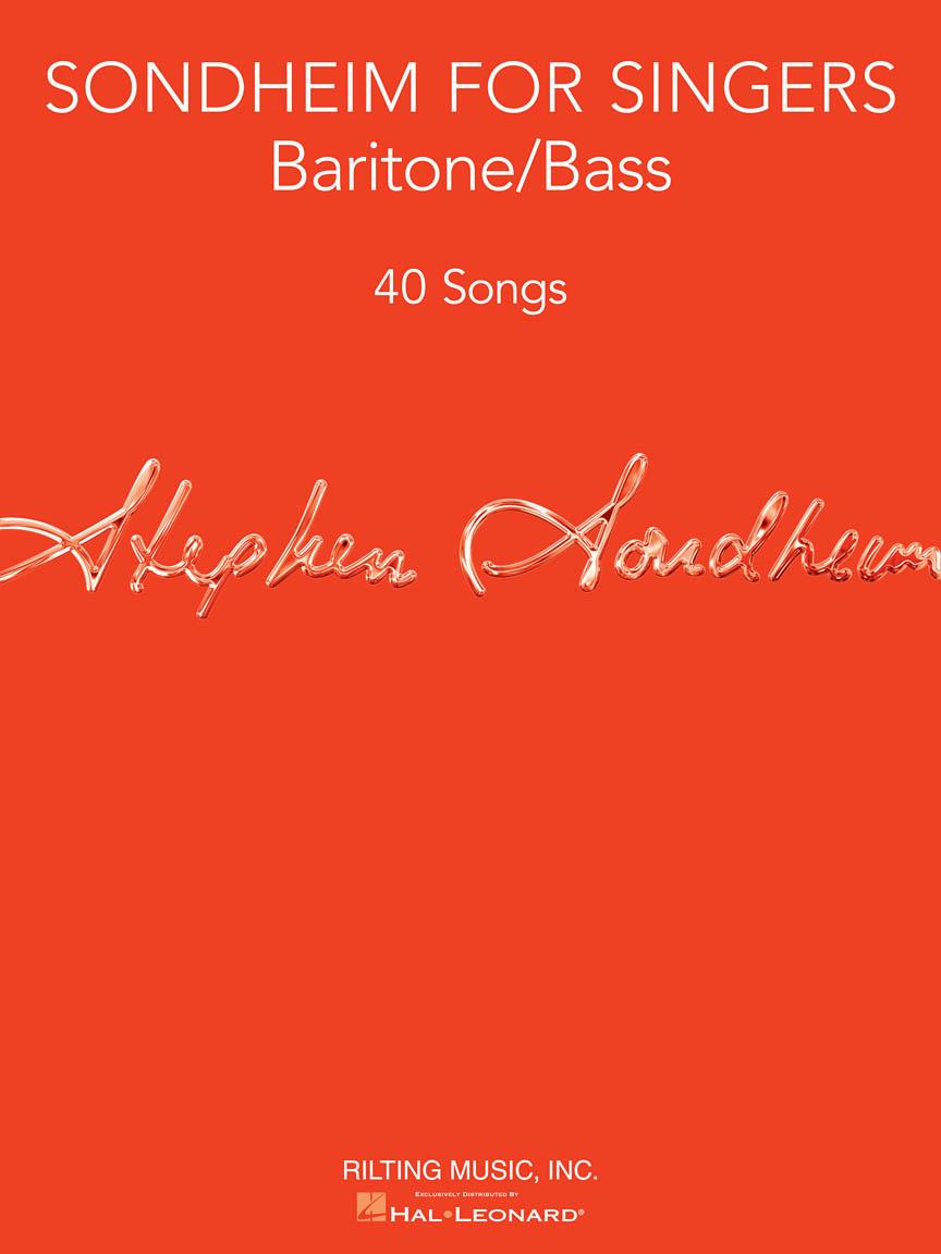 Sondheim for Singers - Baritone/Bass (40 Songs) | Hal