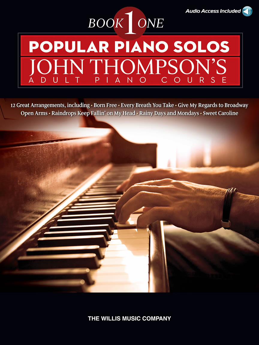 Product Cover for Popular Piano Solos – John Thompson's Adult Piano Course (Book 1)