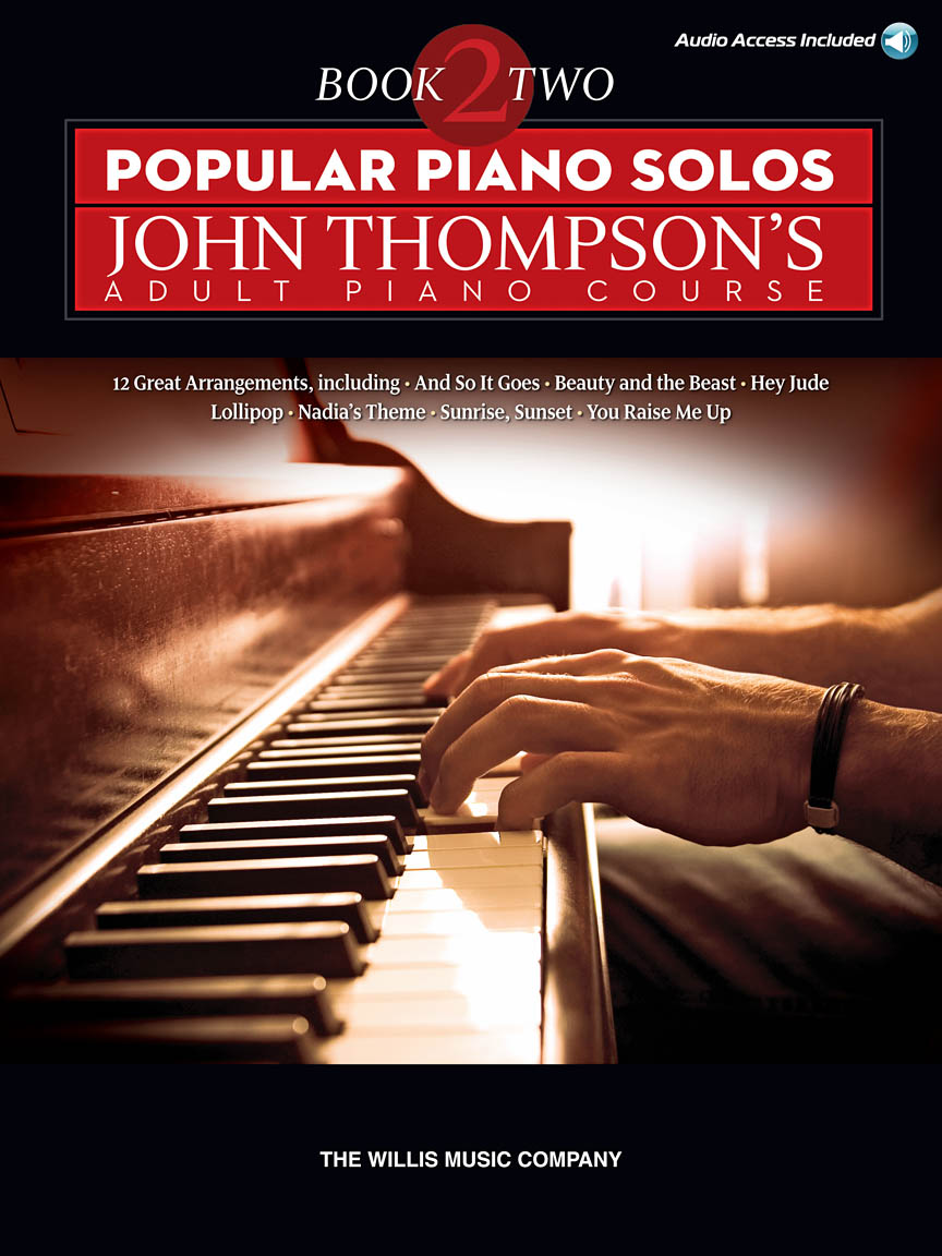 Product Cover for Popular Piano Solos – John Thompson's Adult Piano Course (Book 2)