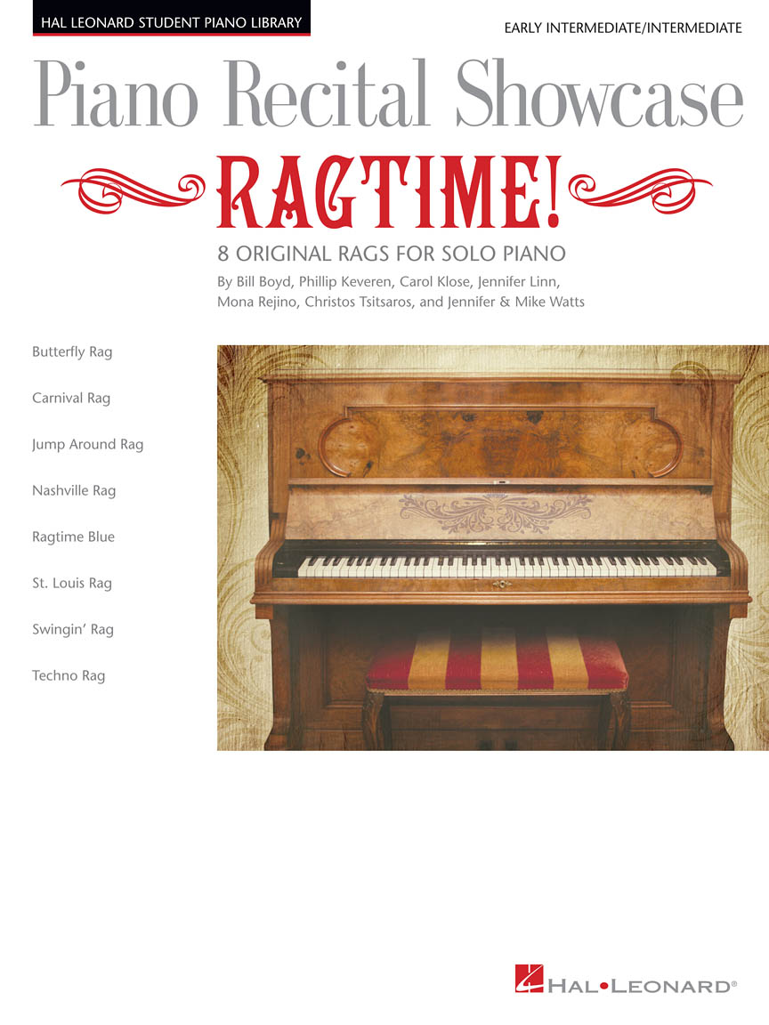 Product Cover for Piano Recital Showcase: Ragtime!