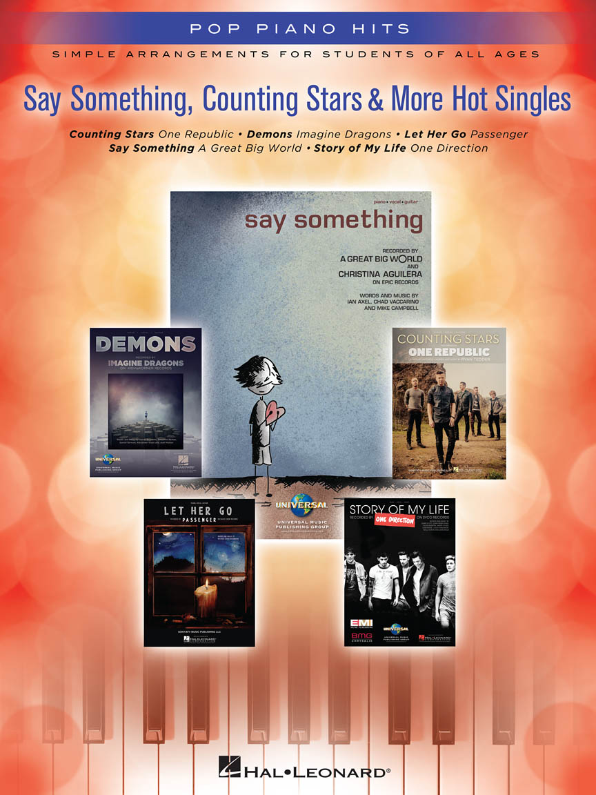 Product Cover for Say Something, Counting Stars & More Hot Singles