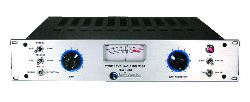 Product Cover for Summit TLA-100a Tube Leveling Amplifier