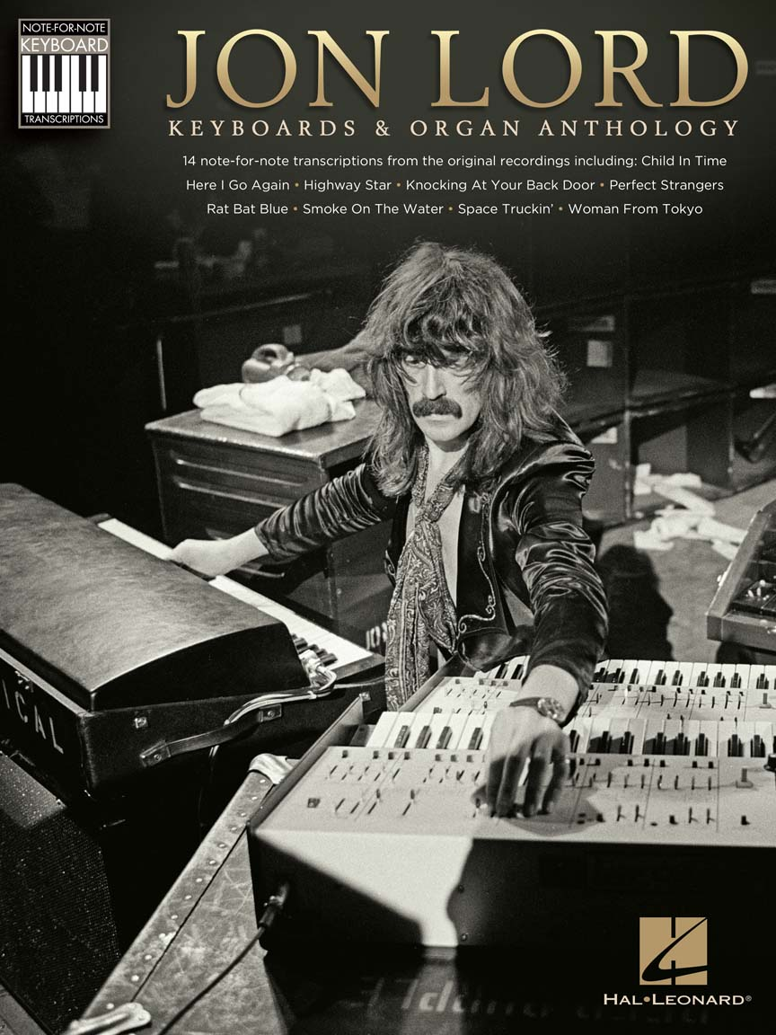 Product Cover for Jon Lord – Keyboards & Organ Anthology