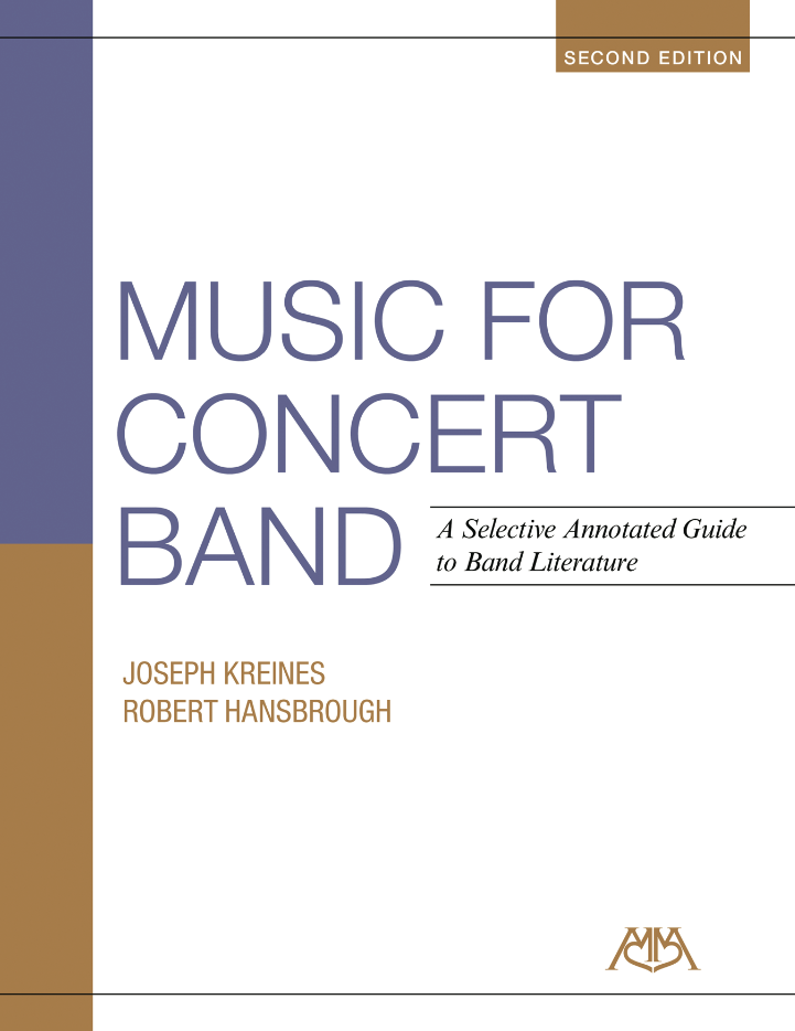 Product Cover for Music for Concert Band –2nd Edition