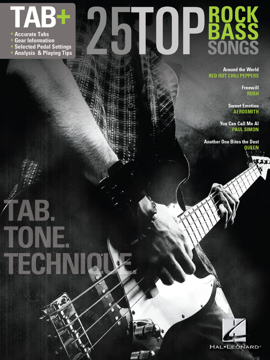 Product Cover for 25 Top Rock Bass Songs