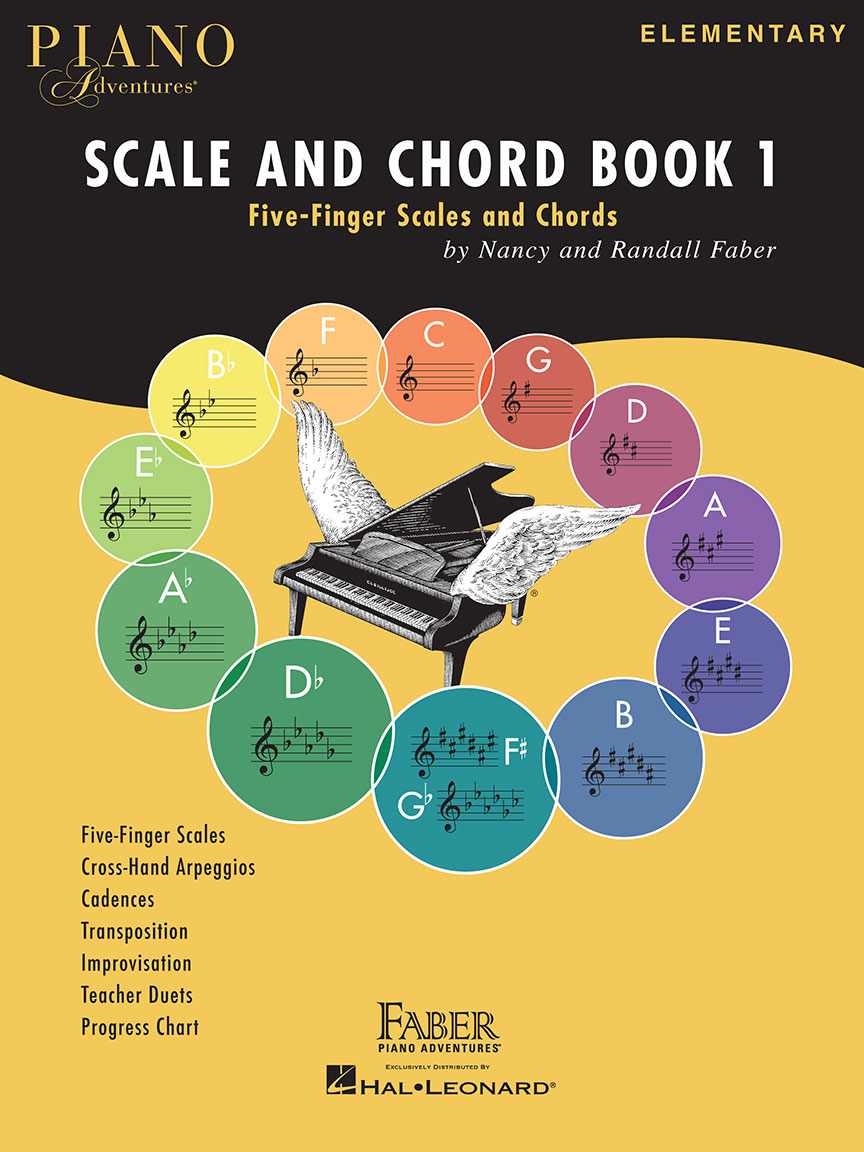 Product Cover for Piano Adventures Scale and Chord Book 1