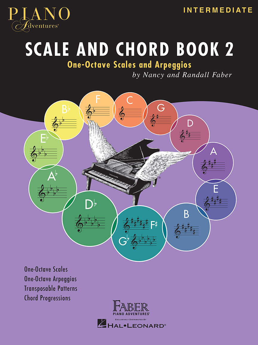 Product Cover for Piano Adventures Scale and Chord Book 2