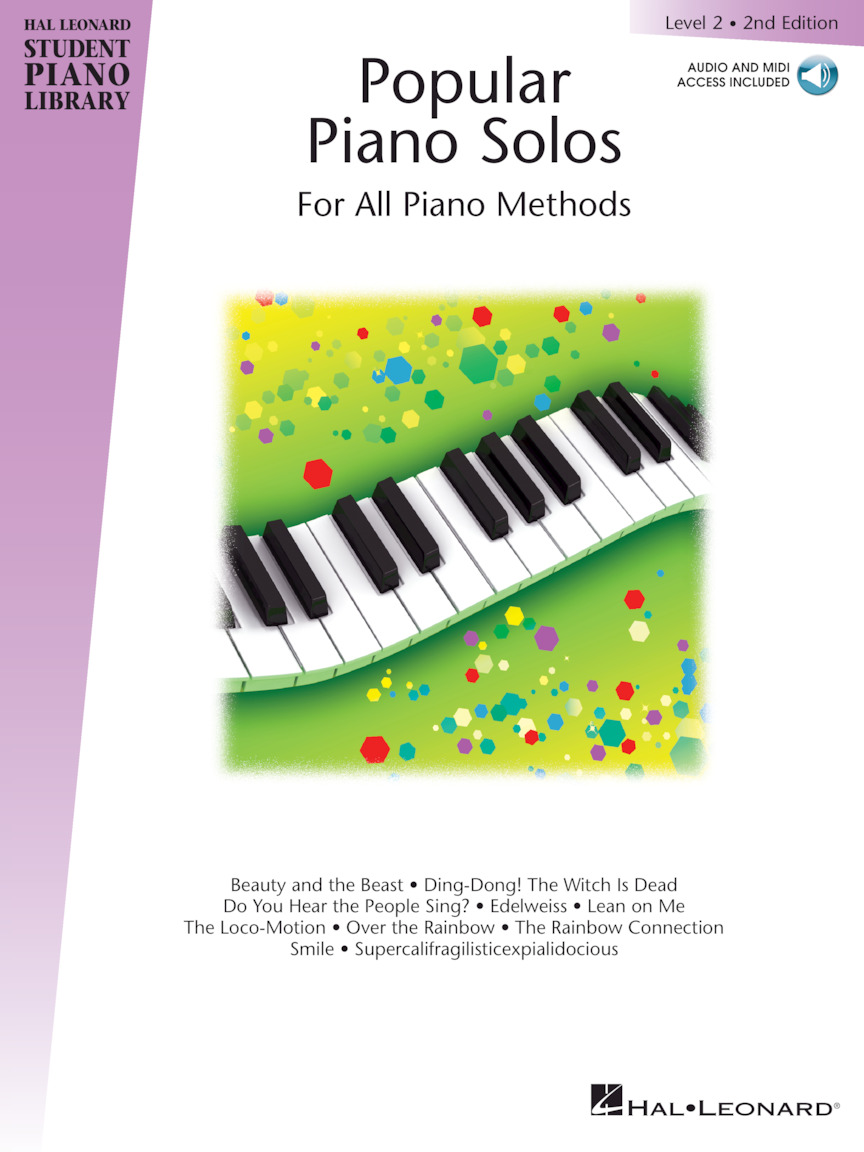 Product Cover for Popular Piano Solos 2nd Edition – Level 2